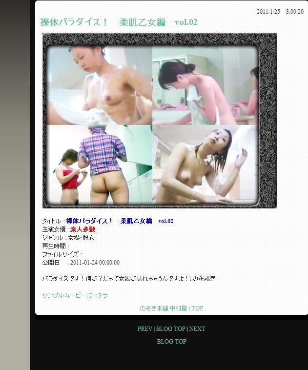 秘密の扉-裸体パラダイス–柔肌乙女編 vol.02