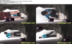 China voyeur Woman Toliet 400-435