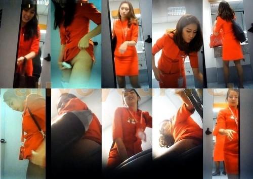 AirAsia airport toilet hidden camera