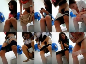 Thailand student toilet