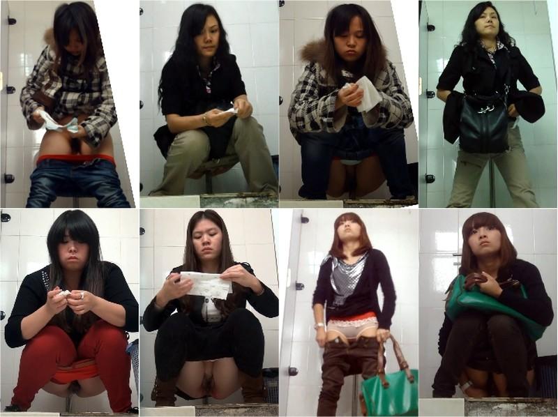 アジアの開放式トイレ12