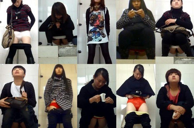 アジアの開放式トイレ5