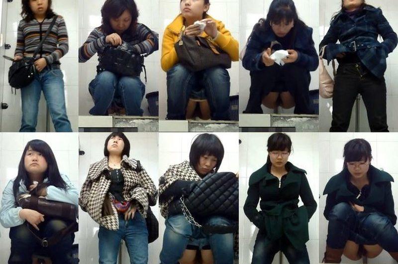 アジアの開放式トイレ11