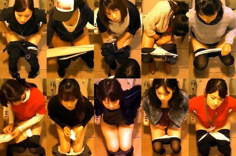 女性達の洋式お手洗いノンストップ 3