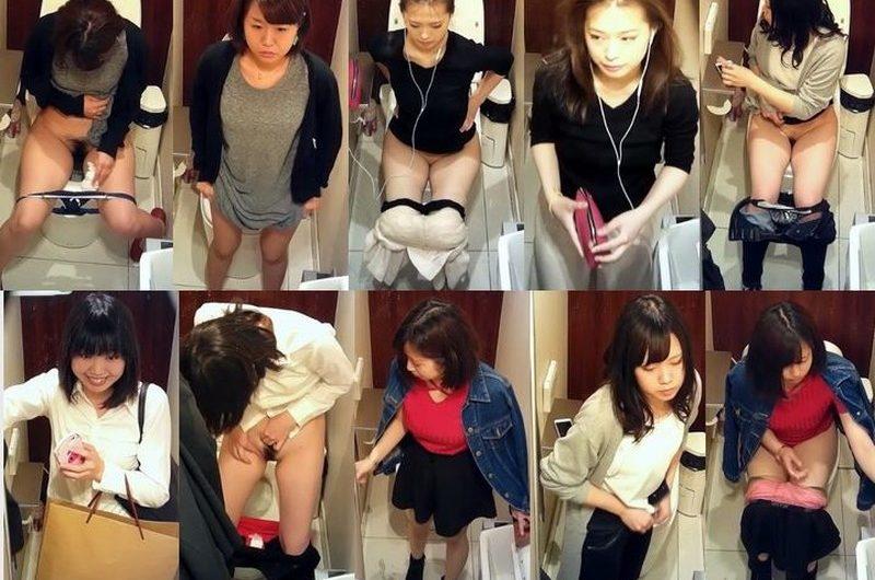 有名デパートのトイレにいる美少女4