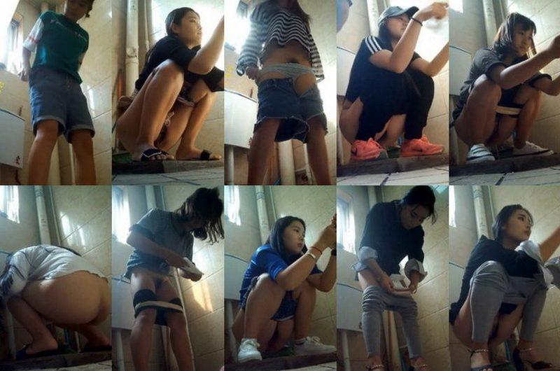College public toilet voyeur 1