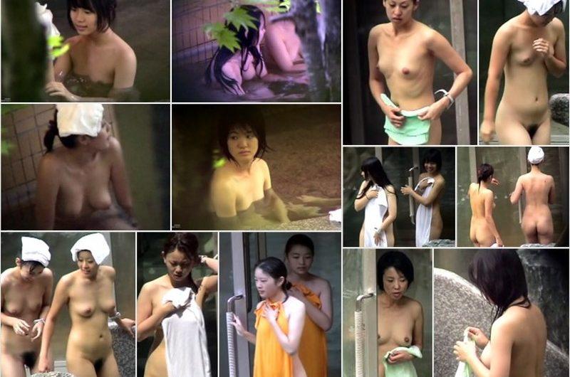 【露天風呂最高峰】若い子がたくさん来る露天風呂 盛合せ